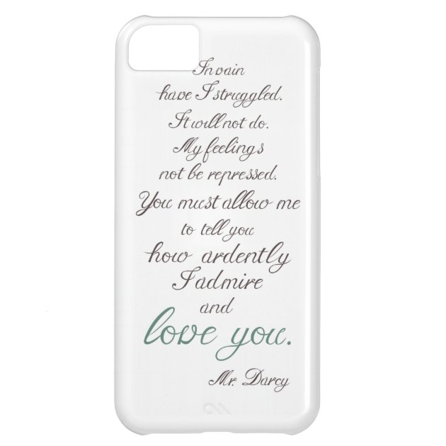 Elizabeth Bennet and Mr Darcy iPhone 11 case