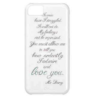 Mr. Darcy to Elizabeth Bennet... iPhone 5C Case