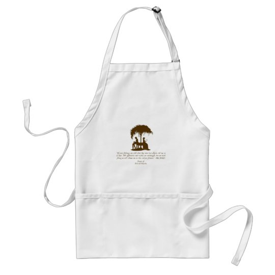 Mr Darcy's Proposal Adult Apron