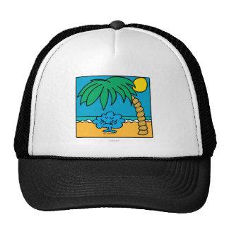 Mr Daydream Beach Scene Mesh Hat