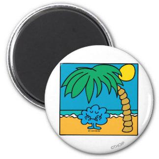 Mr Daydream Beach Scene Magnets