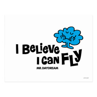 Mr. Daydream Believes He Can Fly Postcard