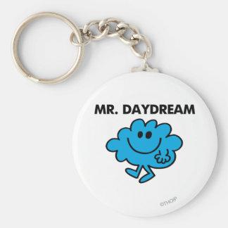 Mr. Daydream Classic Pose Basic Round Button Keychain