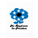 Mr Daydream for President Post Card