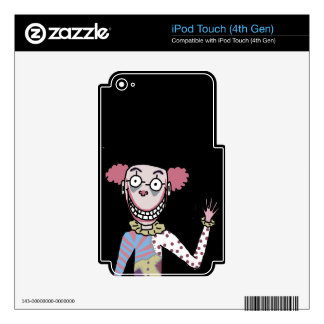 Mr. Dingles Skin For iPod Touch 4G