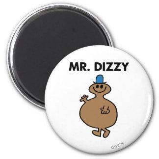 Mr Dizzy Classic Fridge Magnet