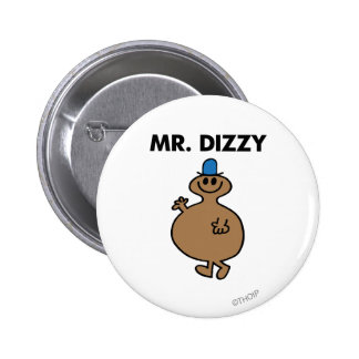 Mr. Dizzy | Classic Pose 2 Inch Round Button