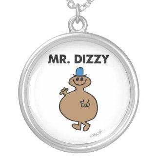 Mr. Dizzy | Classic Pose Round Pendant Necklace