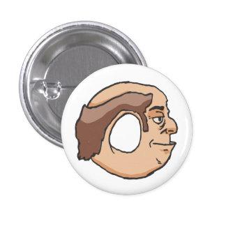Mr. Doughnut-Head Buttons