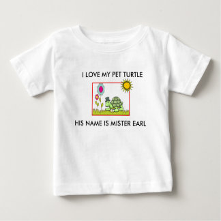 """MR. EARL"" TODDLER'S TURTLE T-SHIRT"