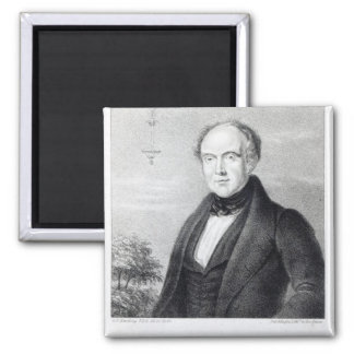 Mr. Edward Spencer, lithograph by Day & Haghe 2 Inch Square Magnet