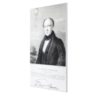 Mr. Edward Spencer, lithograph by Day & Haghe Canvas Print
