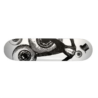 Mr. Eyeinthesky Custom Skate Board