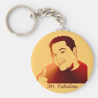 Mr. Fabulous Keychain