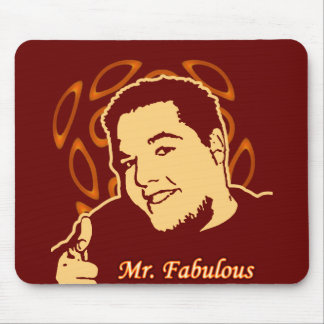 Mr. Fabulous Mouse Pad
