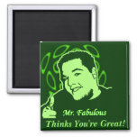 Mr. Fabulous Thinks You're Great! Magnets