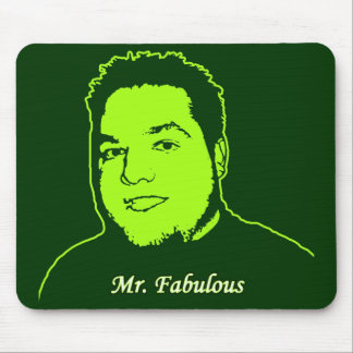 Mr. Fabulous ver. 2 Mouse Pad