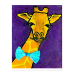 Mr. Fancy Giraffe Post Cards
