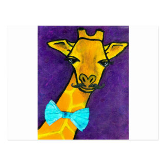 Mr. Fancy Giraffe Postcard