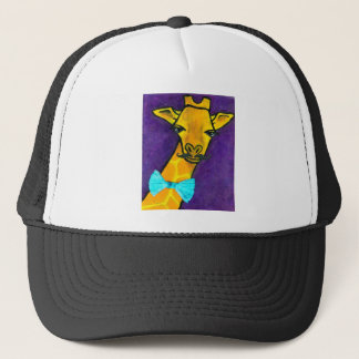 Mr.Fancy Giraffe Trucker Hat