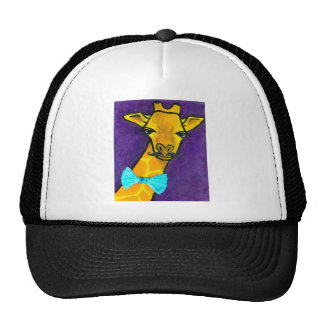 Mr.Fancy Giraffe Trucker Hat