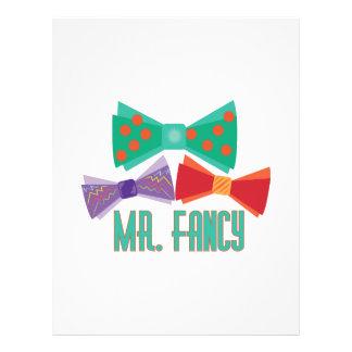 Mr. Fancy Customized Letterhead
