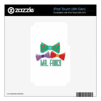 Mr. Fancy Decals For iPod Touch 4G