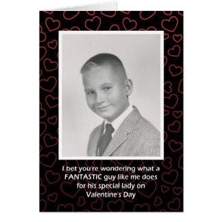 Mr. Fantastic Valentine Card