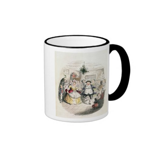 Mr Fezziwig's Ball, from 'A Christmas Carol' Mugs