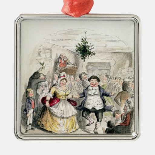 Mr Fezziwig's Ball, from 'A Christmas Carol' Ornament