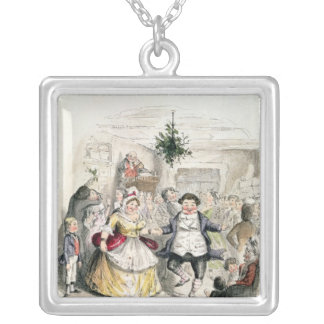 Mr Fezziwig's Ball, from 'A Christmas Carol' Silver Plated Necklace