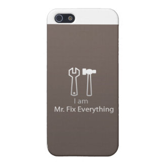Mr. Fix Everything Cover For iPhone SE/5/5s