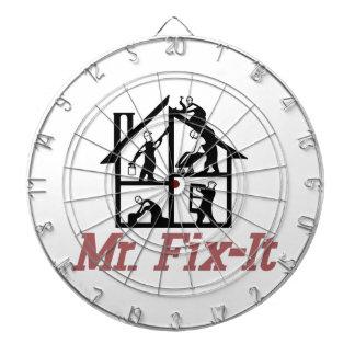Mr. Fix-it Dartboard
