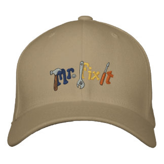 Mr Fix It Embroidered Baseball Hat