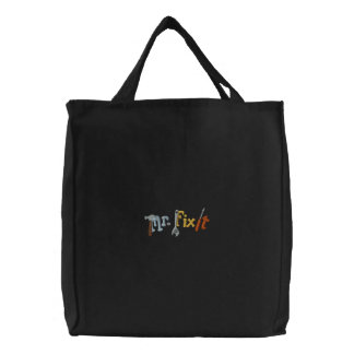 Mr Fix It Embroidered Tote Bag