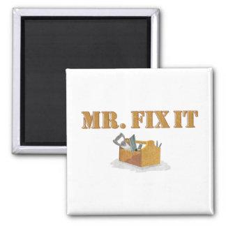 Mr. Fix-It Magnet