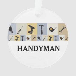 Mr.Fix It Men's Working  Tools  Light Bulb Wrench Ornament