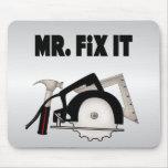 Mr Fix It Mouse Pad