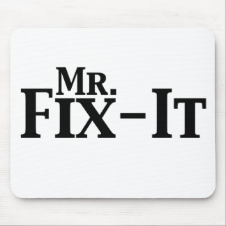 mr fix it mouse pad