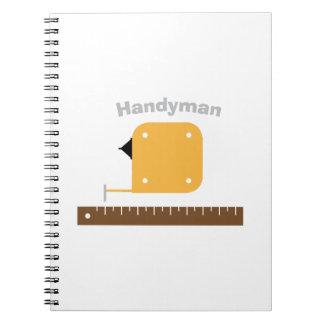 Mr. Fix It Note Book