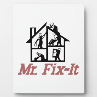 Mr. Fix-it Plaque