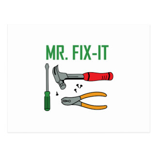 Mr. Fix-It Postcard