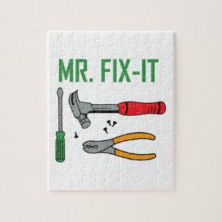 Mr. Fix-It Puzzle