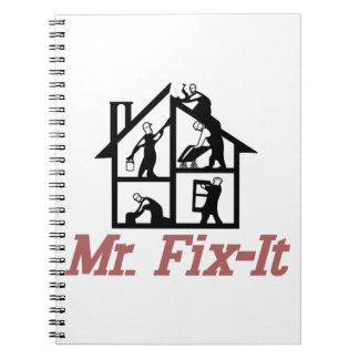 Mr. Fix-it Spiral Notebook