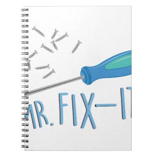 Mr Fix-it Spiral Notebook