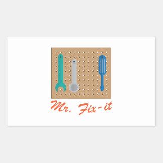 Mr. Fix-It Sticker