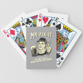 Mr. Fixit: After this Beer Deck Of Cards