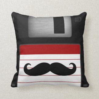 Mr. Floppy Disk pillow