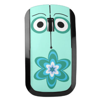 Mr. Flowery face Wireless Mouse