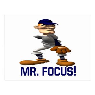 Mr Focus Postcard